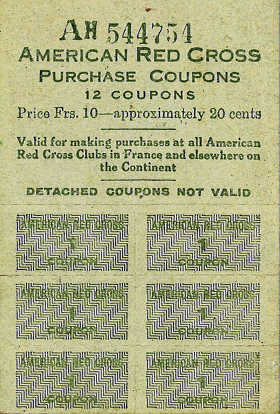 Red Cross Purchase Coupons