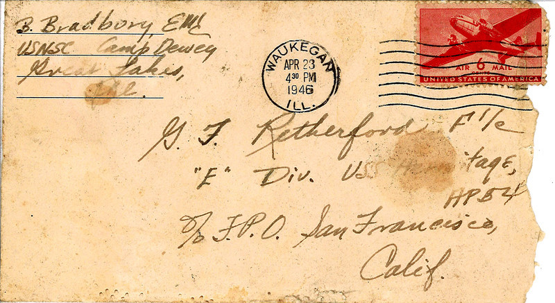 4/23/46 letter from a friend