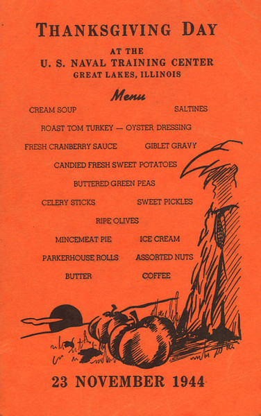 Thanksgiving postcard 11/23/44