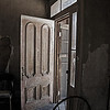 Antigued Door in Bodie Ghost Town