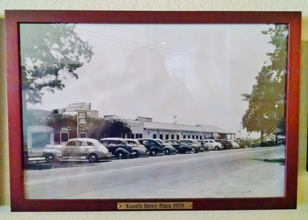 Mrs. Knott's Back in The Day - the parking