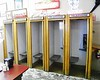 In case you've never seen one - these are telephone booths