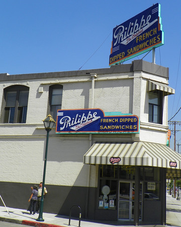 Philippe The Original (or is it? - ask the folks at Cole's) French Dipped Sandwiches