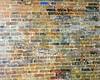 Upstairs graffiti wall 1