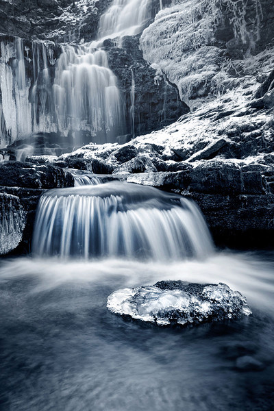 Scaleber Force Falls Ice Flow