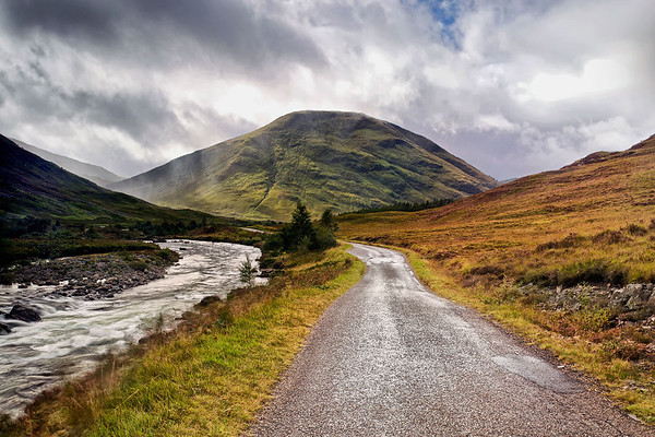 Road to Glen Coe