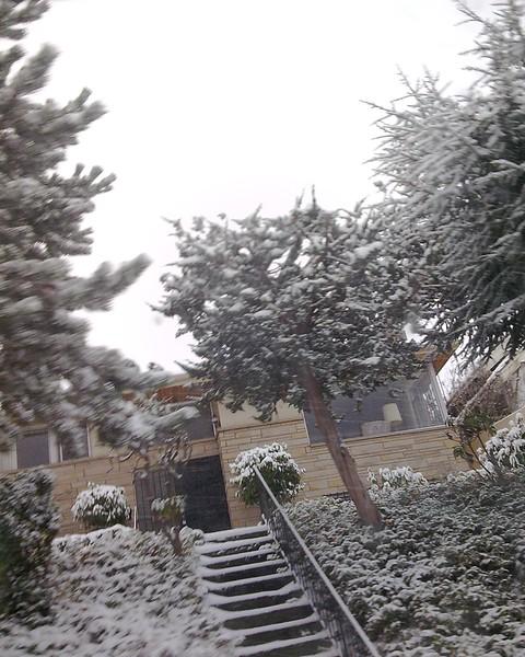 Picking Up Speed on snowy street