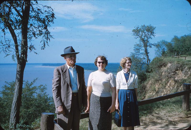 Samuel Mueller, Marjorie Mueller, and Mayda Mueller