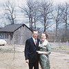 Uncle Sammy and Aunt Marge at the Homeplace on Walnut Drive.