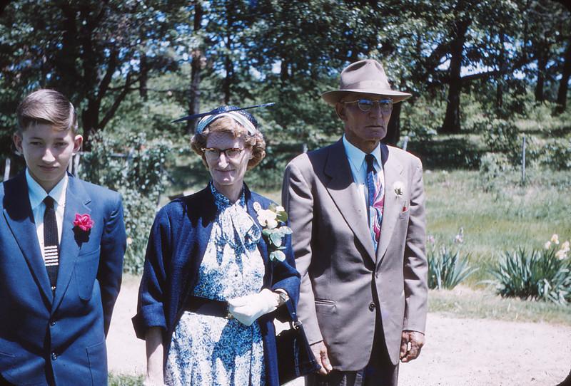 George Mueller, Mayda Mueller, Sam Mueller
