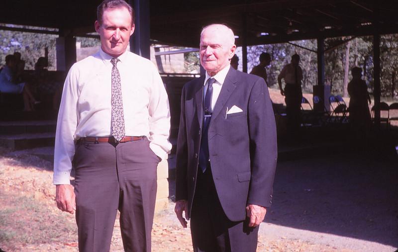 L. Samuel Mueller and Uncle Morgan Martin