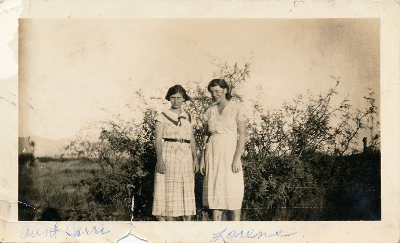 Carrie and Lorene Thompson