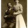 "James Alexander Peyton and Emma Caroline Lobmaster Wedding April 1901.  Parents of Eugene Onselum ""Gene"" Peyton"