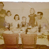 From L-R:  Emma Peyton, Linda Peyton, Loretta Peyton, Steve Peyton, Jeanie Peyton, Gene Peyton.   Date on back of photo is week of March 23, 1953