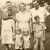 From Left:  June, Bobby, Loretta (Tubby), Emma (Granny), Linda (Pete), Gene (Granddaddy), Don Peyton.  About 1945