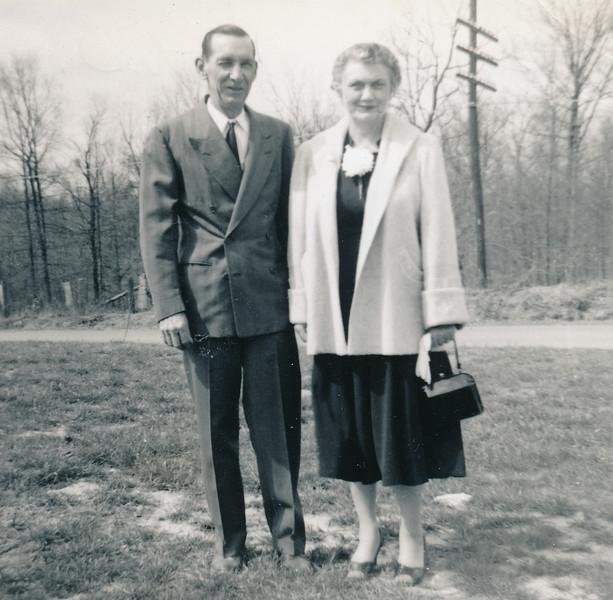 Eugene Onselum Peyton and Emma Jake Thompson Peyton