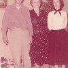 From L-R:  Gene Peyton, Emma Peyton and Linda Peyton.   Date on back of photo is Christmas 1957.