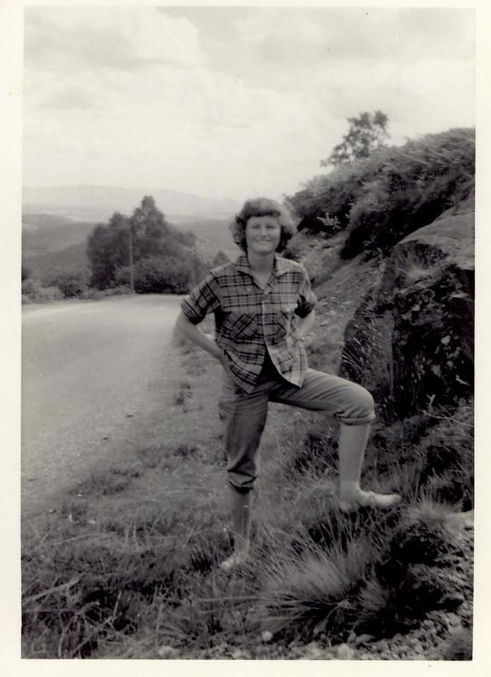 1959 07 Janet, nr  Aberfoyle 10 July 1959