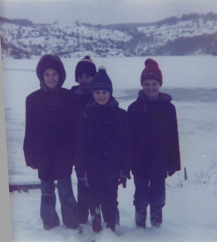 1979 01 Kenny Brian Alan Ann Loch Mill 14 January 1979