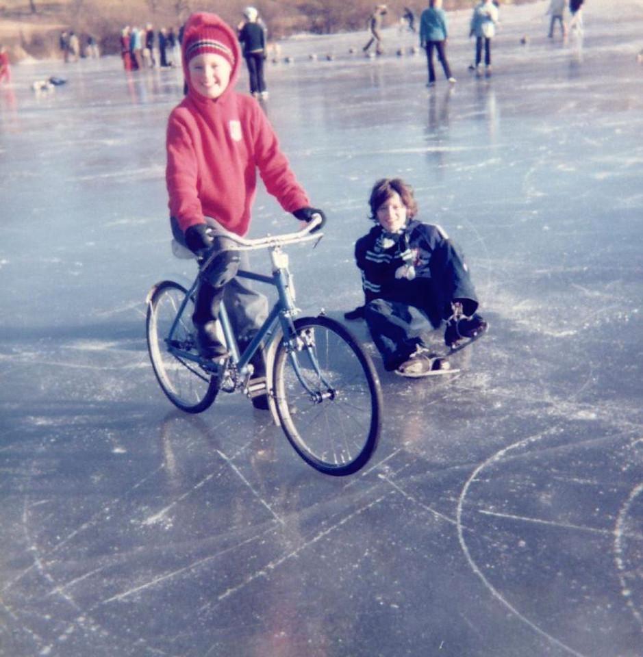 1979 02 Ann Brian Lindores Loch 4 February 1979