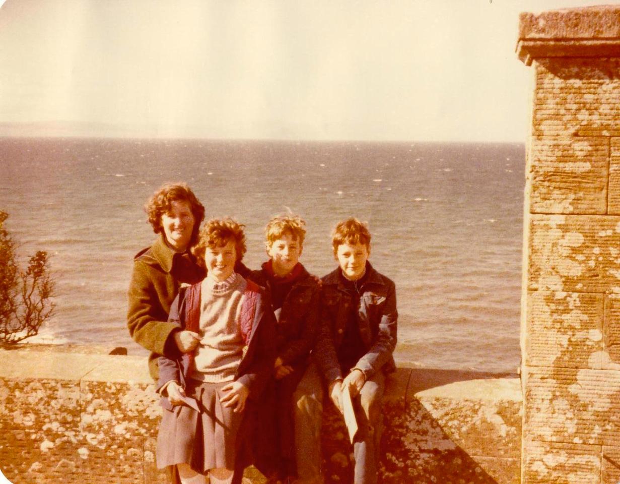 1980 04 Janet Ann Alan Kenny Culzean Castle 8 April 1980
