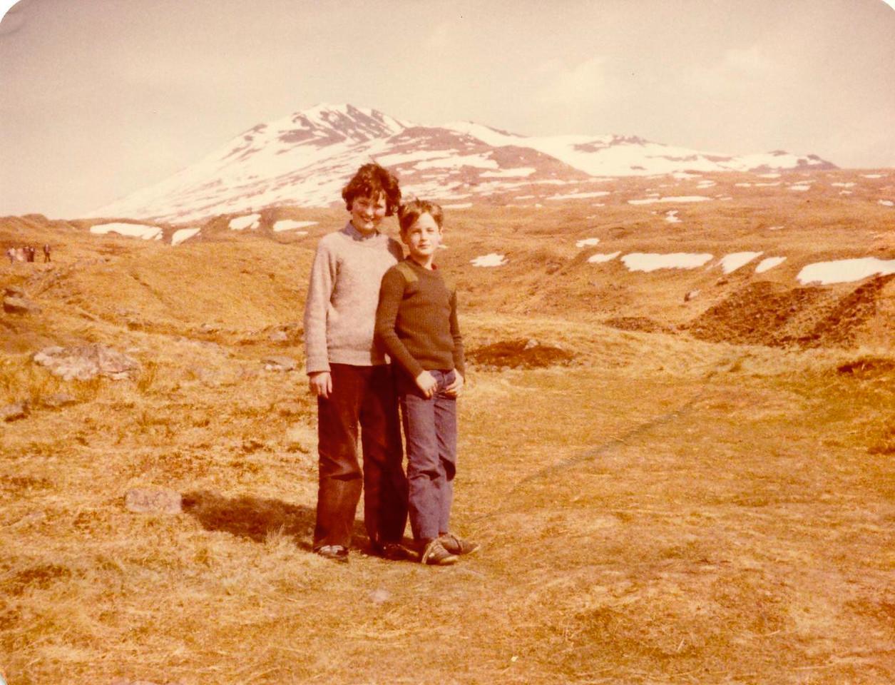1980 04 Ann Alan Beinn Ghlas 6 April 1980