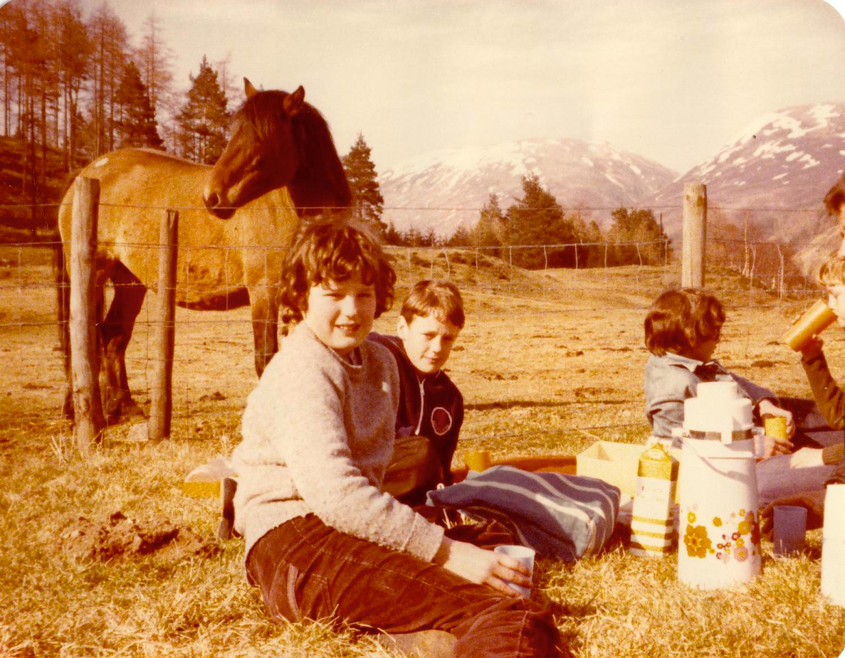 1980 05 Ann Kenny Brian  Glen Clova 5 April 1980