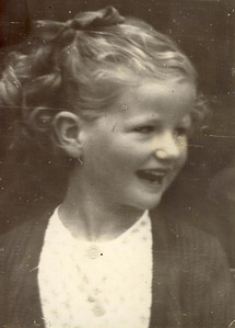 1950 Janet Williamson, 7 yrs  old 1950