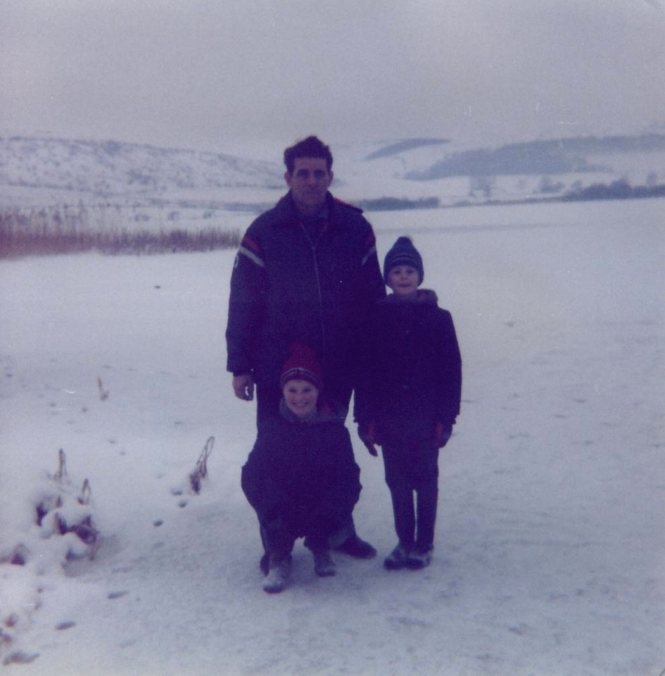 1979 01 Eddie Ann Alan Lindores Loch 14 January 1979