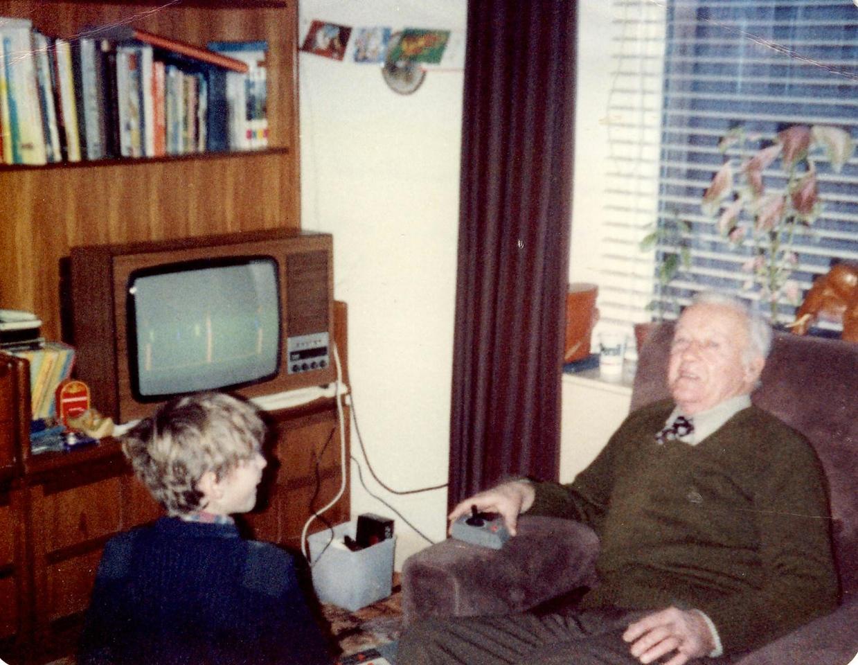 1980 12 Alan Grandad Taymount 25 December1980