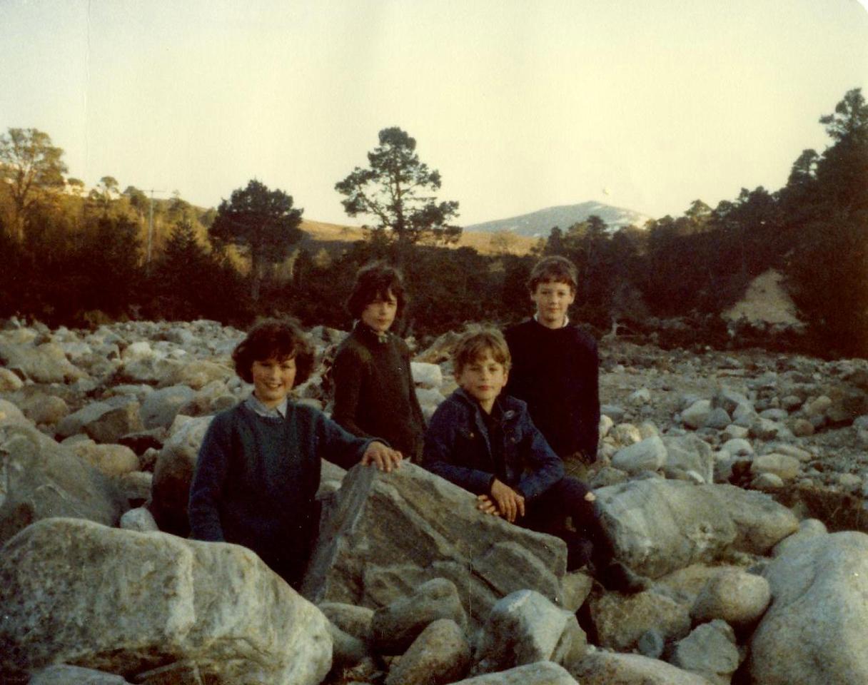 1980 05 Ann Brian Alan Kenny Glenmore 3 May 1980