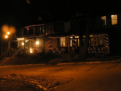 Roselawns 3, 5, 7 on the first night of Christmas lights