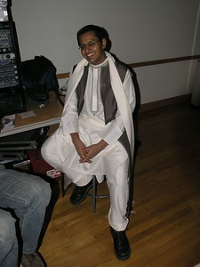 saagarp poses in his traditional garb