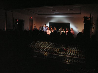 Front-of-House view of the concert