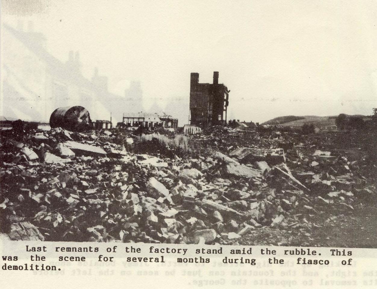 cn Lino Factory Demolition