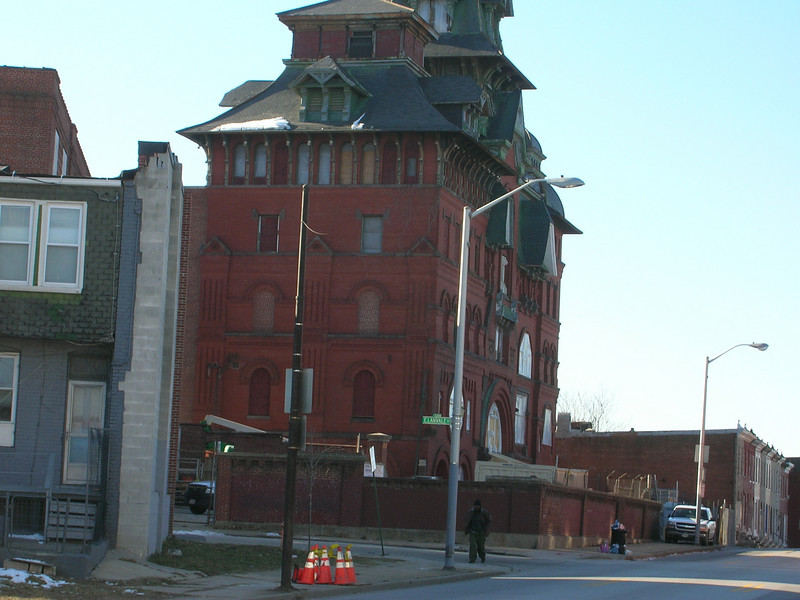 The old structure is in the Northwest part of the city.