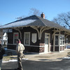 The former Forest Hill station, mile post 30.3.  It is now used as a model train shop.  What a way to double down on nerdiness.