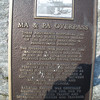 A plaque is now attached to the abutments.  This was about mile post 7.0.
