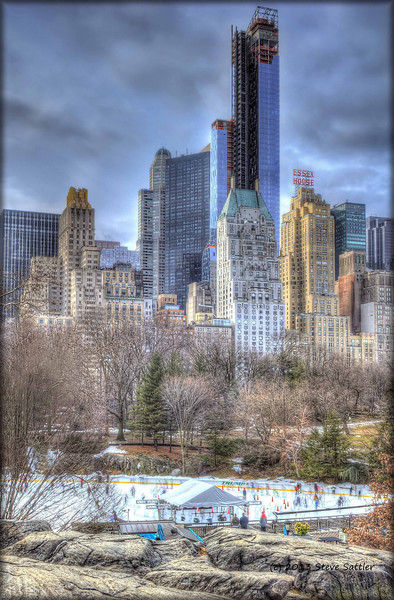 Wollman Ice Skating Rink in NYC