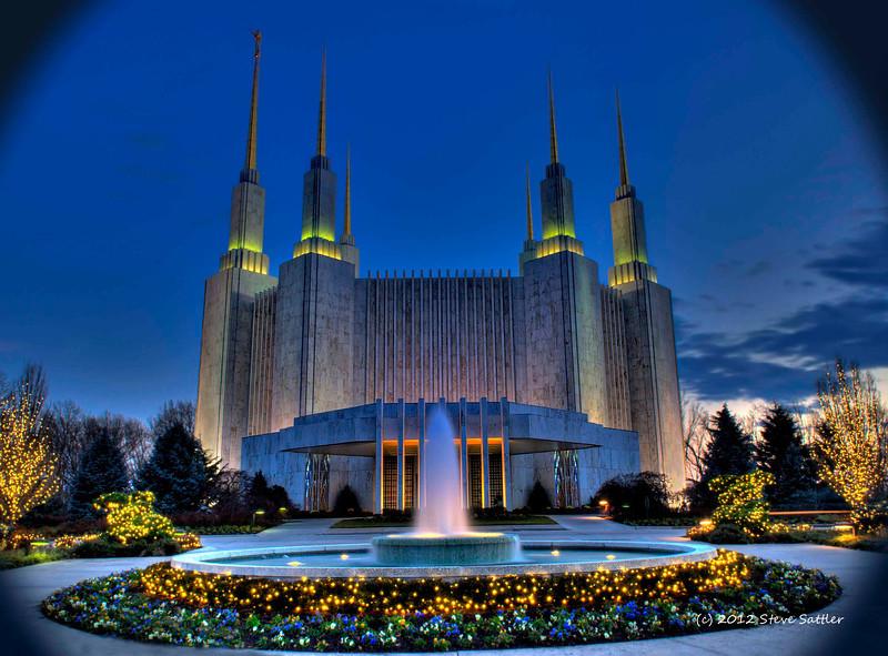 Mormon Temple - Kensington, Maryland