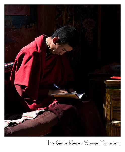 桑耶寺的守门僧人