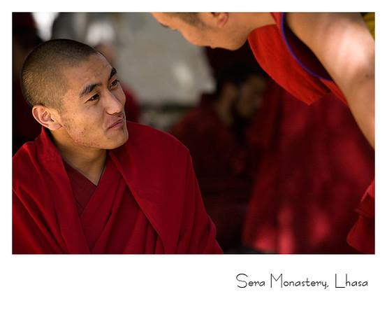 色拉寺僧人
