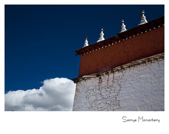 桑耶寺 - 西藏的第一座寺庙