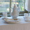 Mary Hafford's cherished tea set.