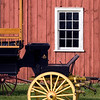 Peterson wagon shop in Crossroads village.