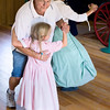 Young visitors learn to dance in Caldwell educational center.