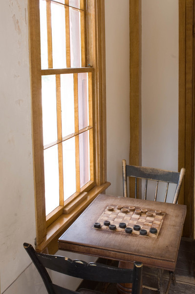 Checkerboard in Four Mille inn.