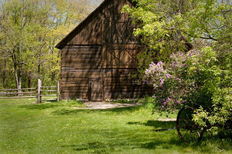Springtime at the Ketola farm.