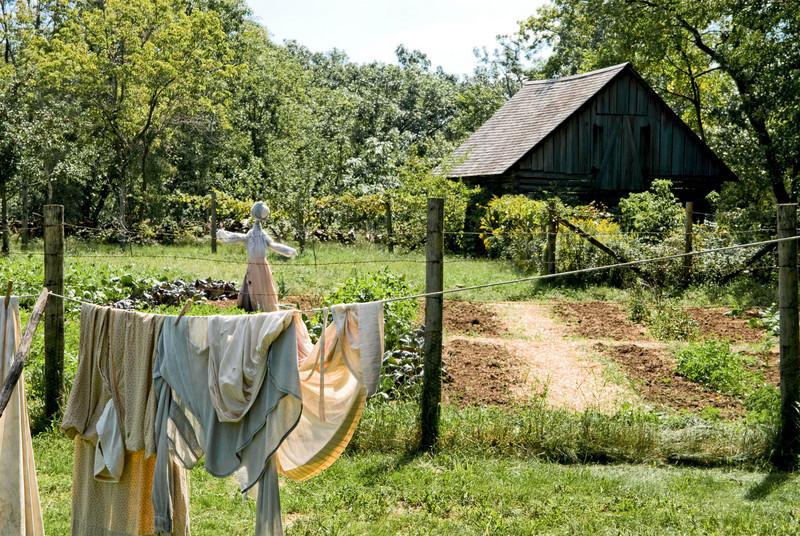 A warm summer day at the Ketola farm.