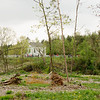 Devastation by the June 2010 tornado.